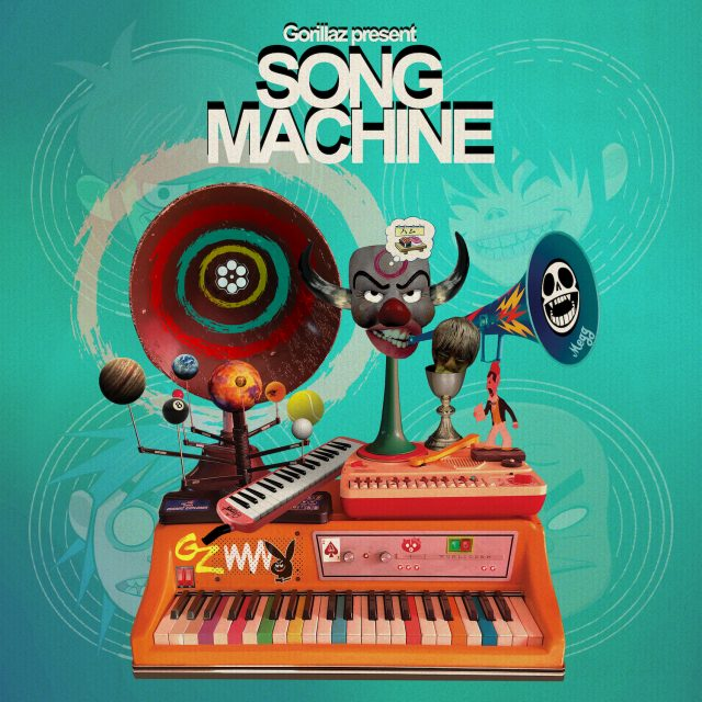 RECENSION: Gorillaz – Song Machine, Season One: Strange Timez